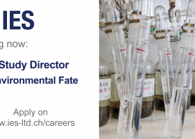 We are looking for a Study Director – Environmental Fate